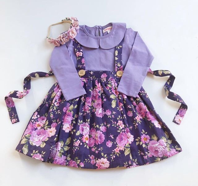 Emily Suspender Skirt With Headband
