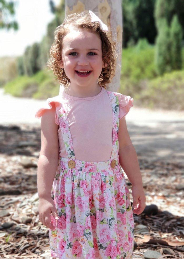 Hannah Suspender Skirt With Headband Gallery 2
