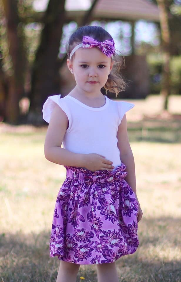 Private Caitlyn Paper Bag Skirt With Headband Gallery 1