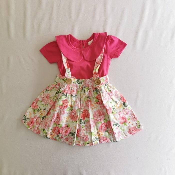 baby girl clothes hannah suspender skirt