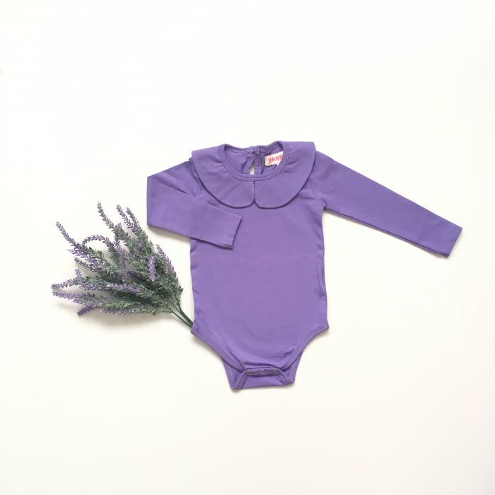 Purple Peter Pan Tops
