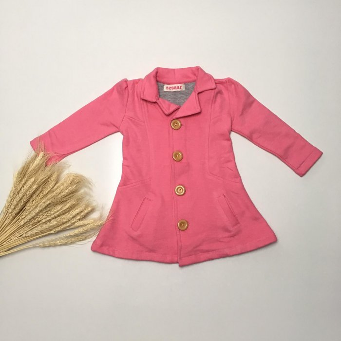 Taffy Pink Winter Coat