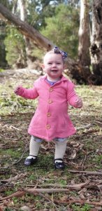 Winter Coat for baby girl in Australia