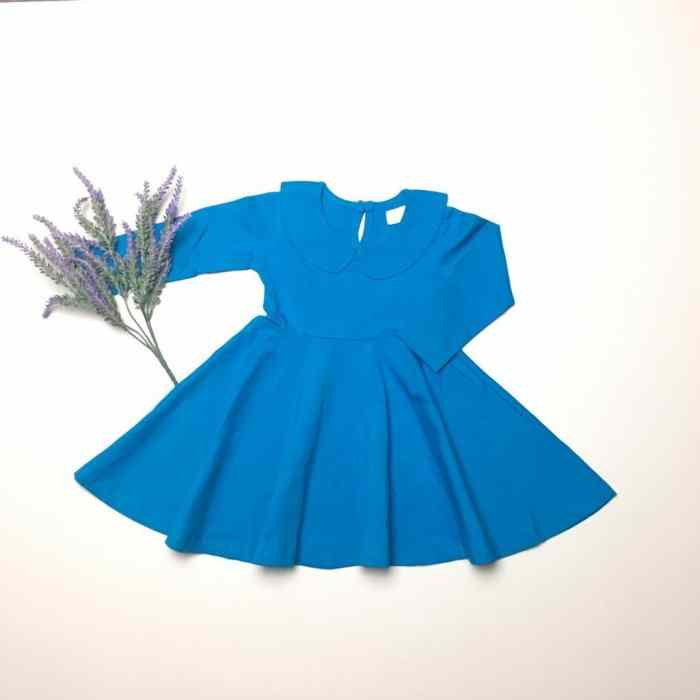 Turquoise Twirly Dress Gallery 3