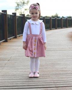 Suspender Skirt- Baby girl clothes Australia.