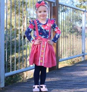 Floral Flutter- Baby girls clothes Australia