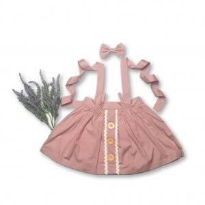 Button Skirt- Baby girl clothes Australia.