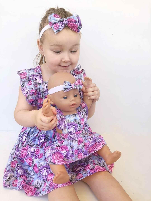 Makayla Dolly Pinny for girls
