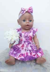 Doll wearing ciara dress