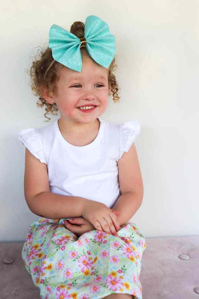 baby girl clothes white flutter