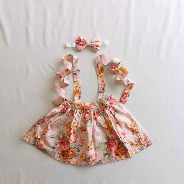 Bonnie skirt flatlay