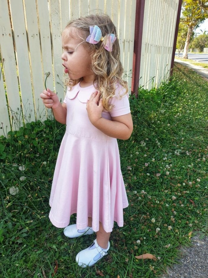 Pixi pink peter pan twirly dress