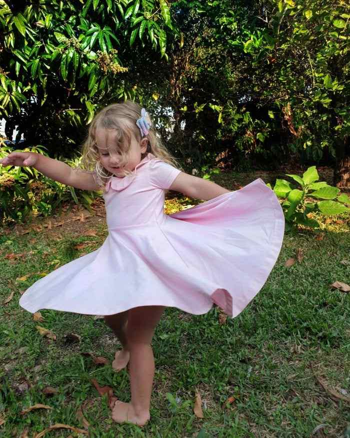 Pixi pink twirly dress