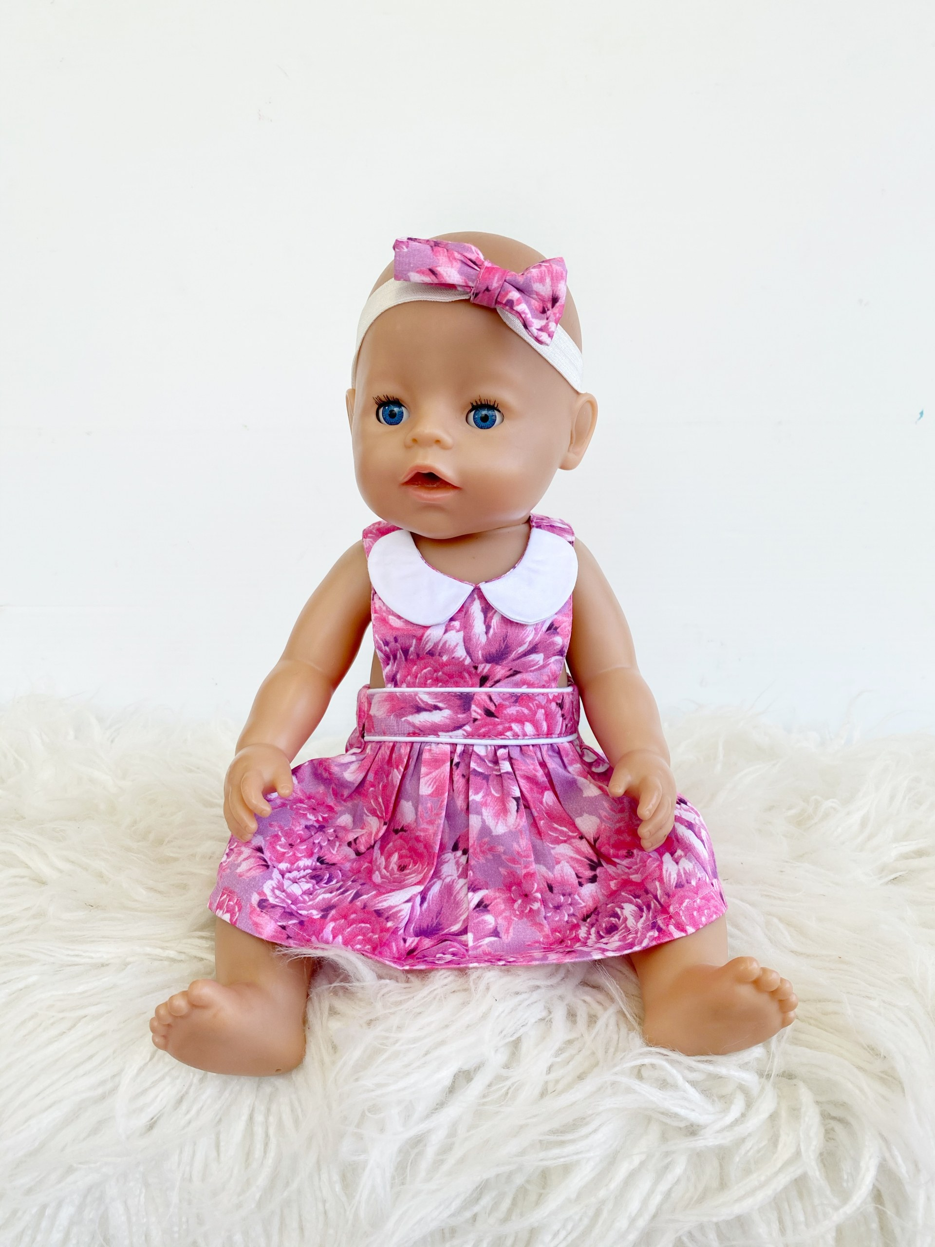 Cute doll in gorgeous pinny