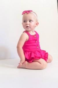 Cute girl wearing tops set