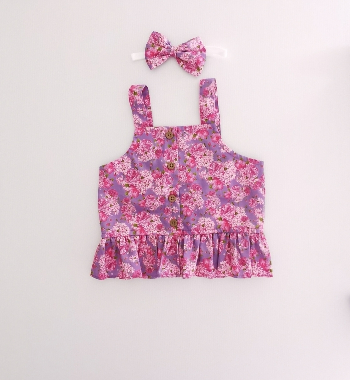 Zoey Frill Top