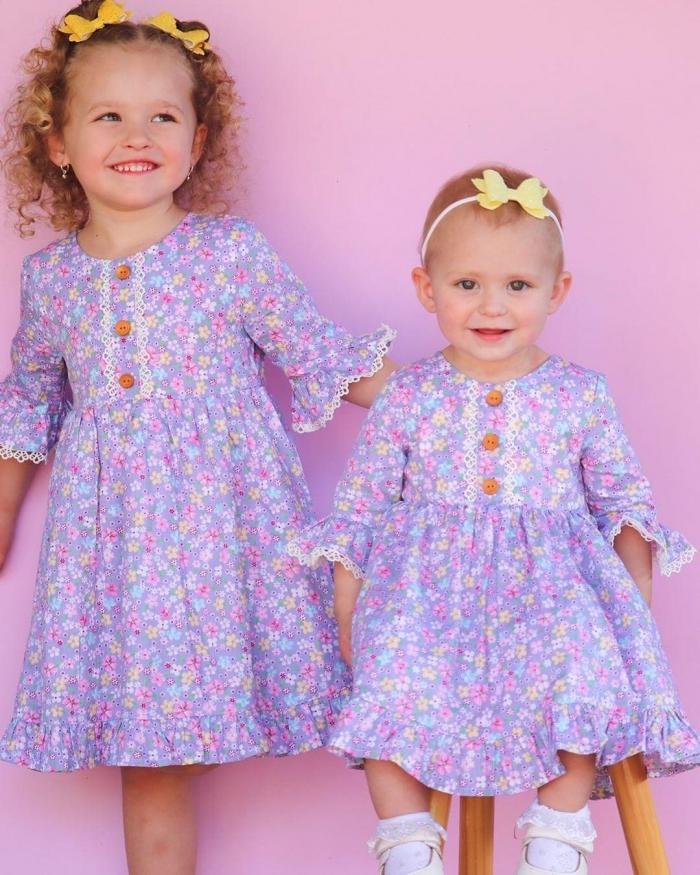 Paisley vintage dress