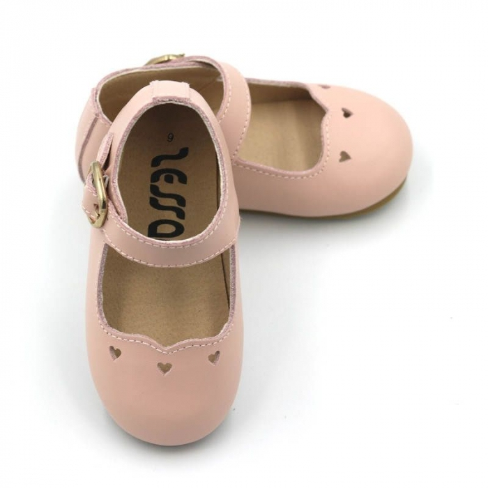 Pink mary jane shoes
