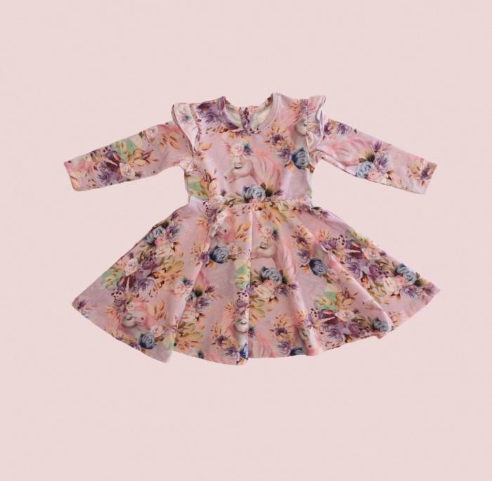 Whimsical Twirl dress