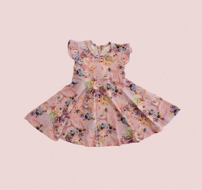 Whimsical sleeveless Twirly dress