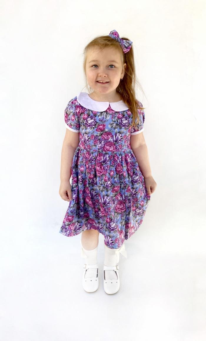 Makayla vintage collar dress