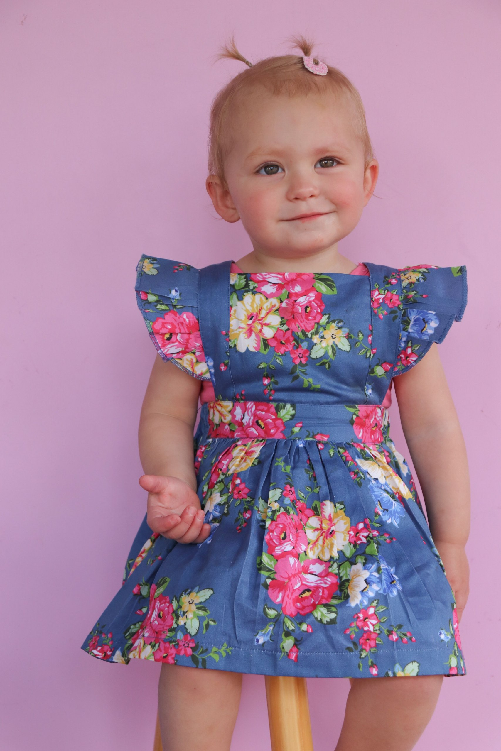 Gorgeous girl floral dress