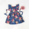 Stunning floral pinafore