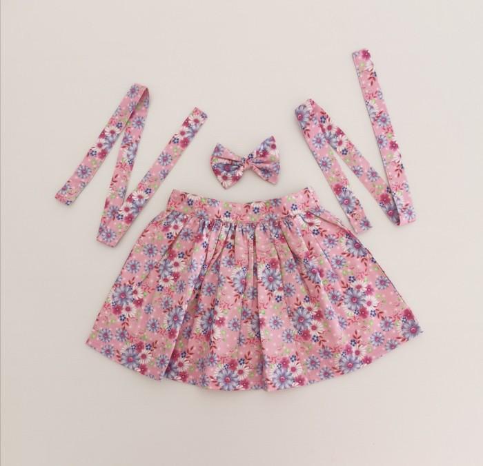 Audrey detachable suspender skirt