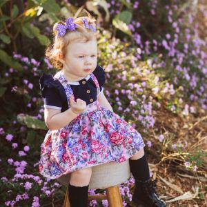 gorgeous girl in gorgeous skirt