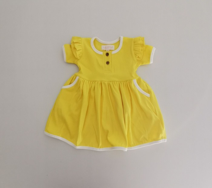 Pineapple ribbed dress