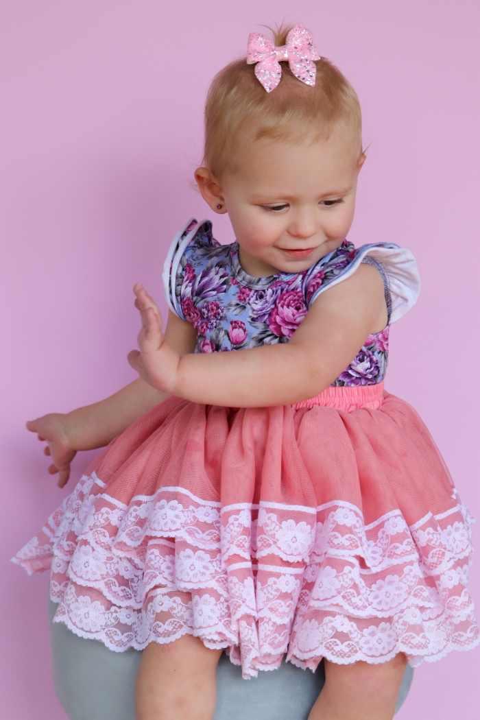 Rose pink tutu skirt