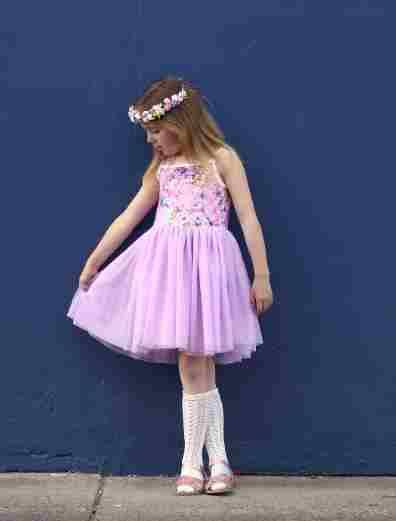 Whimsical tutu dress