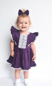Gorgeous girl in stunning dress