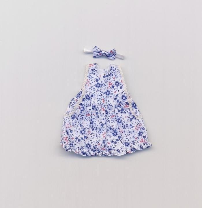 Hope button doll dress