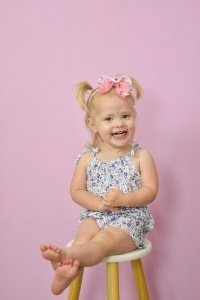 Playsuit for baby girls