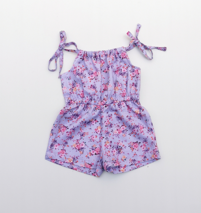 Amelia tie up playsuit