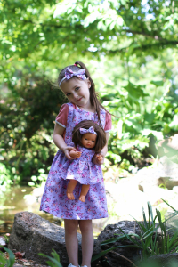 Pinny and matching dolly