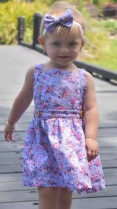 Cute girl wearing cute pinny