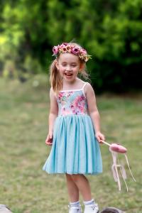 Gorgeous girl in tutu dress