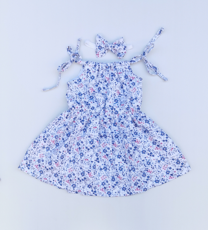 Hope tie up dress for girls