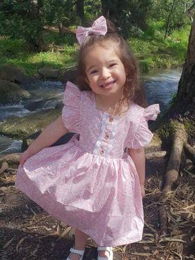Harmony Flutter Dress for baby girls 4