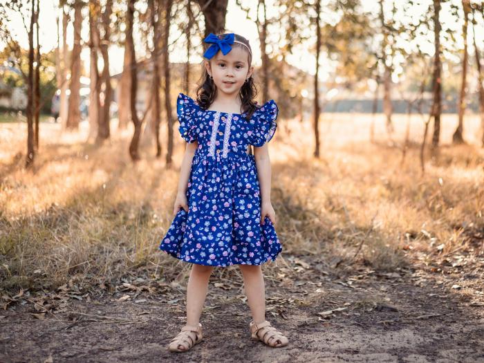 Eleanor flutter dress