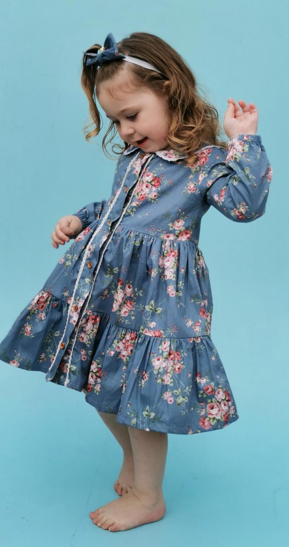 Wynter tier dress
