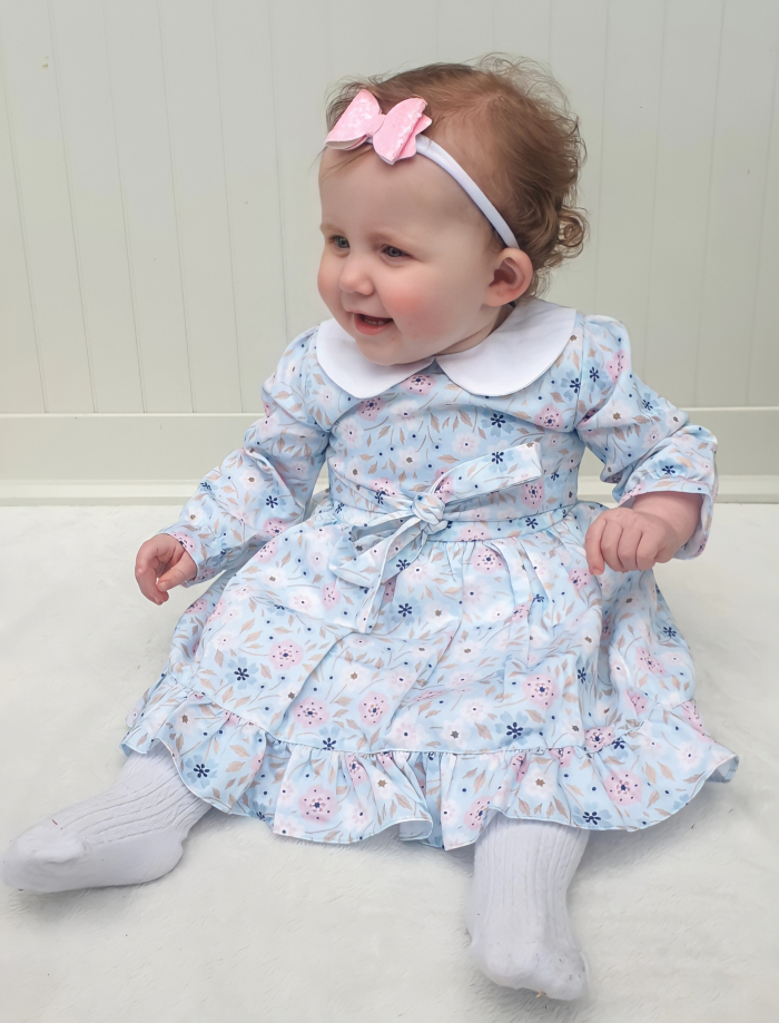 kitarna peter pan collar dress for baby girls 5 (2)