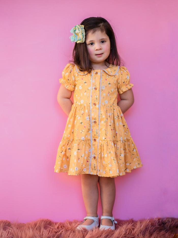 Meadow Tier dress