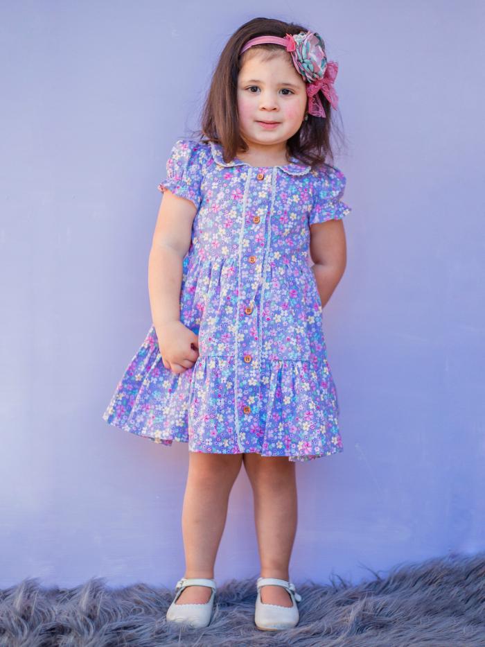 Paisley tier dress