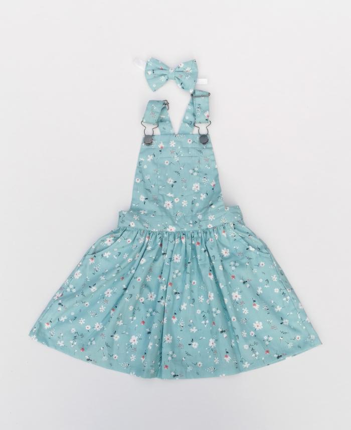 Addison overall dress