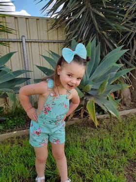 Tallulah Summer Overalls for girls