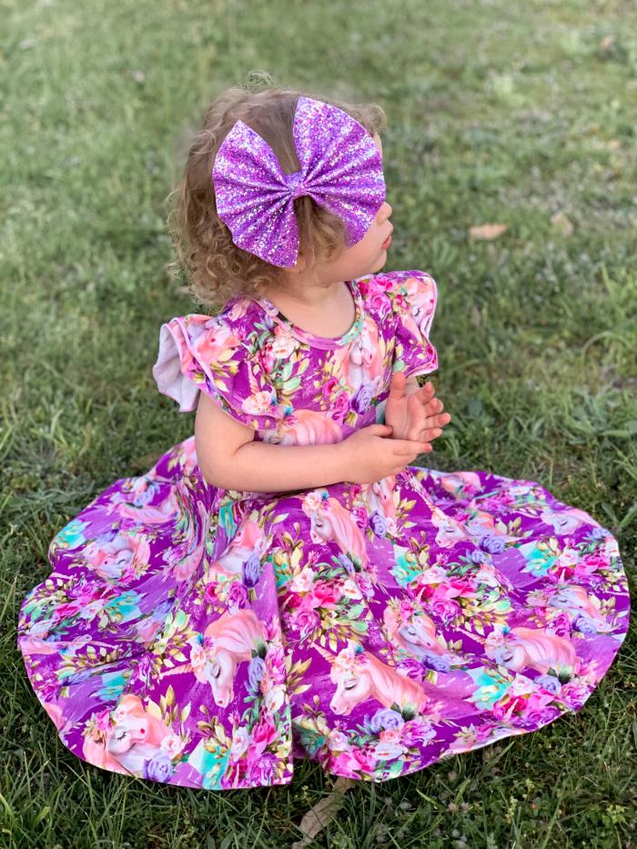 Athena Twirly dress