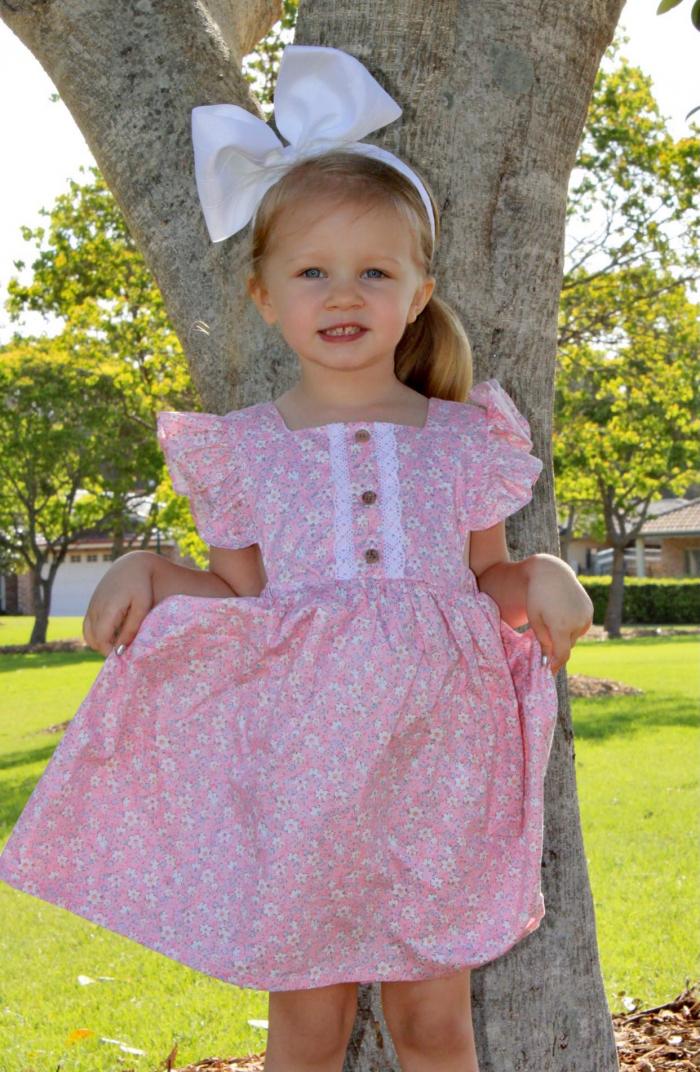 Harmony Flutter Dress